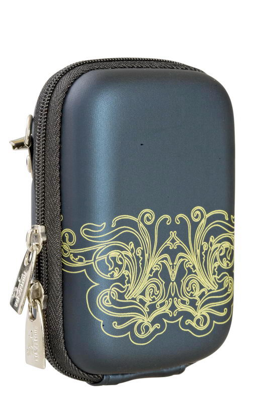 7023 (PU) Digital Case dark blue (moire)