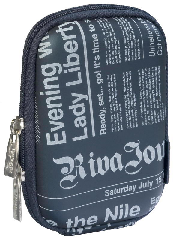 7023 (PU) Digital Case dark blue (newspaper)