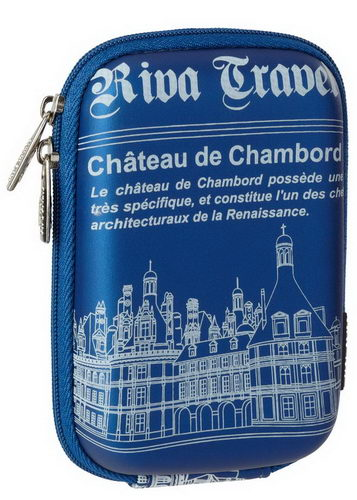 7103 (PU) Digital Case light blue Chambord (travel)