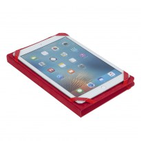 3217 red kick-stand tablet folio 10.1