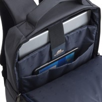 8262 black Laptop backpack 15.6