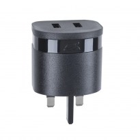 VA4423 BD1 UK wall charger (2 USB /3.4 A), with Micro USB cable